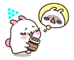 Cute Bunny Couple Ppoya & PpoPpo Ver.1 sticker #15897958