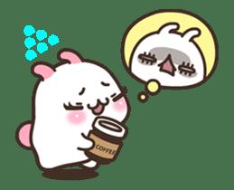 Cute Bunny Couple Ppoya & PpoPpo Ver.1 sticker #15897958
