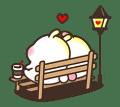 Cute Bunny Couple Ppoya & PpoPpo Ver.1 sticker #15897961
