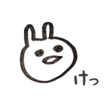 the rabbit itend to use sticker #15920523