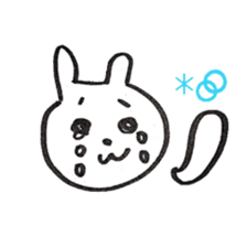 the rabbit itend to use sticker #15920539