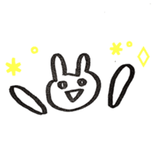 the rabbit itend to use sticker #15920542