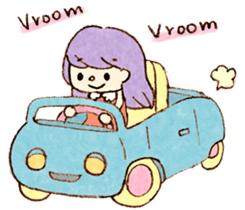 Dreamy Girl's Sticker sticker #15929007