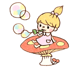 Dreamy Girl's Sticker sticker #15929017