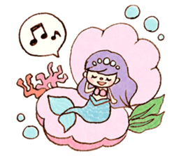 Dreamy Girl's Sticker sticker #15929021