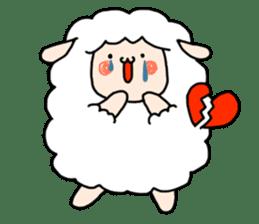 I am cute sheep 2. sticker #15929843