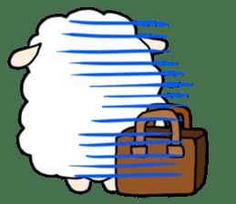 I am cute sheep 2. sticker #15929845