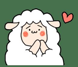 I am cute sheep 2. sticker #15929846