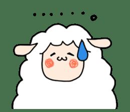 I am cute sheep 2. sticker #15929847