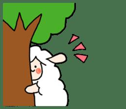 I am cute sheep 2. sticker #15929848