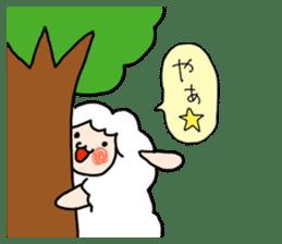 I am cute sheep 2. sticker #15929849