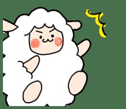 I am cute sheep 2. sticker #15929851
