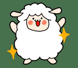 I am cute sheep 2. sticker #15929853