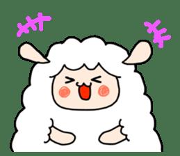 I am cute sheep 2. sticker #15929854