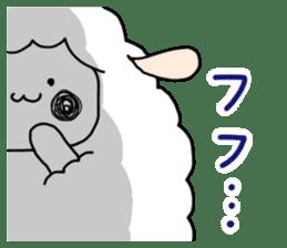 I am cute sheep 2. sticker #15929859