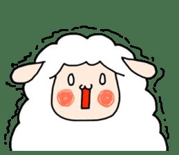 I am cute sheep 2. sticker #15929870