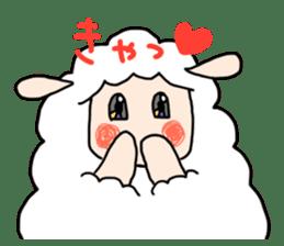 I am cute sheep 2. sticker #15929872
