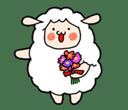 I am cute sheep 2. sticker #15929873