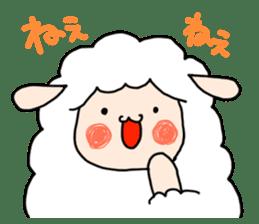 I am cute sheep 2. sticker #15929874