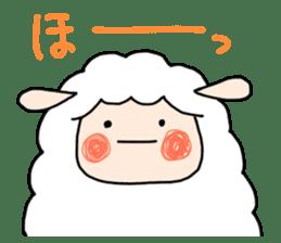 I am cute sheep 2. sticker #15929876