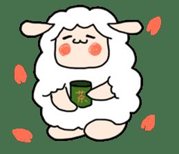 I am cute sheep 2. sticker #15929878