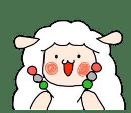 I am cute sheep 2. sticker #15929879