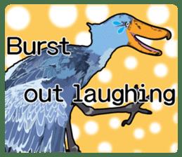Sluggish bird Shoebill sticker #15929969
