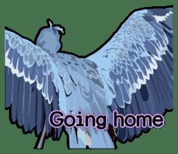 Sluggish bird Shoebill sticker #15929994