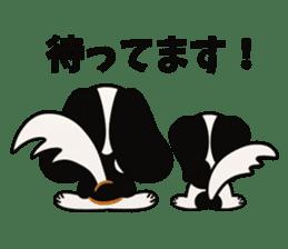 Cavalier King Charles Spaniel Tricolor sticker #15932101