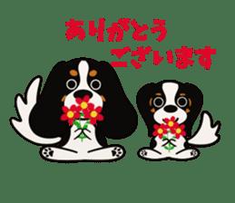 Cavalier King Charles Spaniel Tricolor sticker #15932103