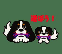 Cavalier King Charles Spaniel Tricolor sticker #15932121