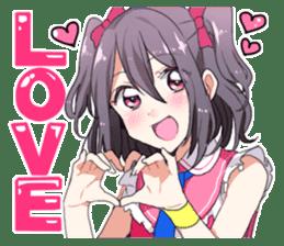 Moe everyone's cute idol Sticker sticker #15940022