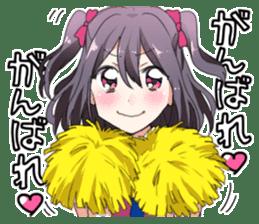 Moe everyone's cute idol Sticker sticker #15940024