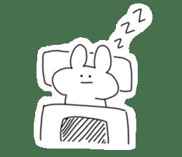 Very very cute Rabbit sticker #15941110