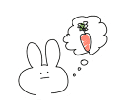 Very very cute Rabbit sticker #15941111