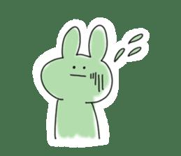 Very very cute Rabbit sticker #15941114