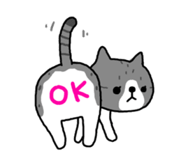 A cat sticker has been released 2 sticker #15945479