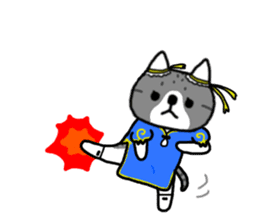 A cat sticker has been released 2 sticker #15945489