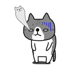 A cat sticker has been released 2 sticker #15945491