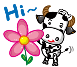 May's cow sticker #15945866