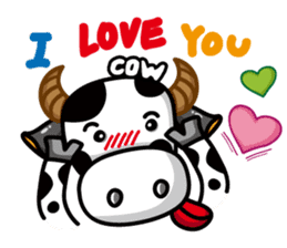 May's cow sticker #15945873