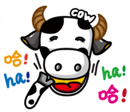 May's cow sticker #15945878