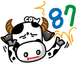 May's cow sticker #15945888