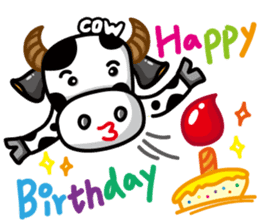 May's cow sticker #15945895