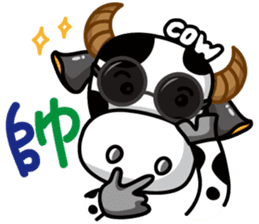 May's cow sticker #15945897