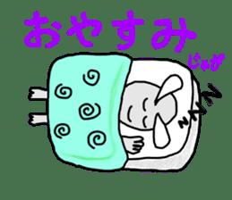 Alien San-chan sticker #15946987