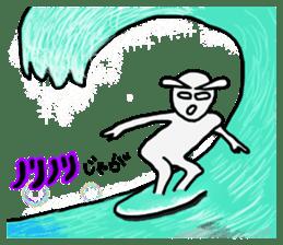 Alien San-chan sticker #15946998