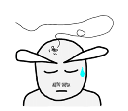 Alien San-chan sticker #15947023