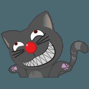 สติ๊กเกอร์ไลน์ แมวตัวแสบ