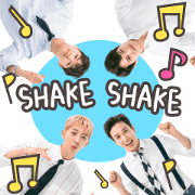 สติ๊กเกอร์ไลน์ CNBLUE Shake!Shake!
